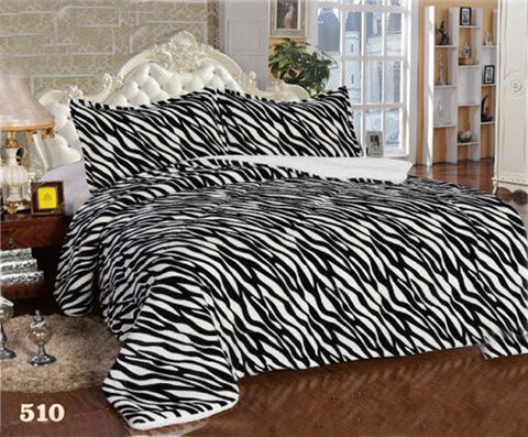 3 pcs Set Silky Soft Microfiber Borrego Blanket