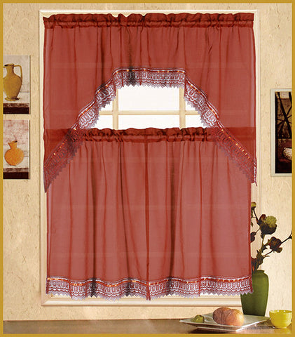 Lucia Kitchen Curtain