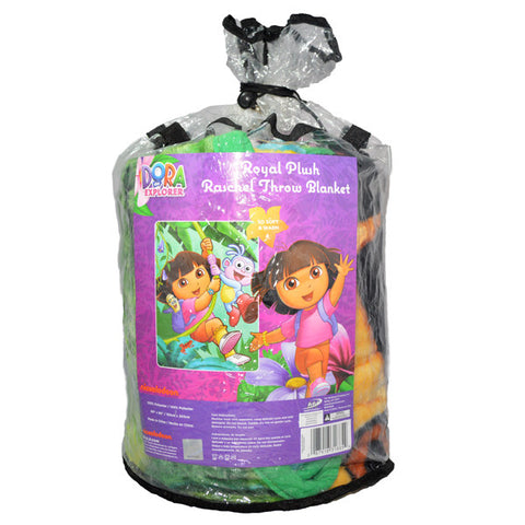 Dora the ExplorerRoyal Plush Raschel Blanket