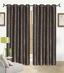 Contemporary Grommet Window Curtain Set
