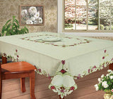 Embroidered Tablecloth, Mantel Bordado