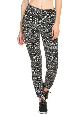Printed Polar Fleece Leggings # 6002