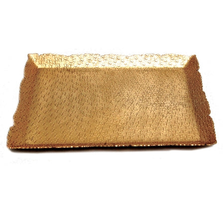 Gold Hammered Cutting Tray
