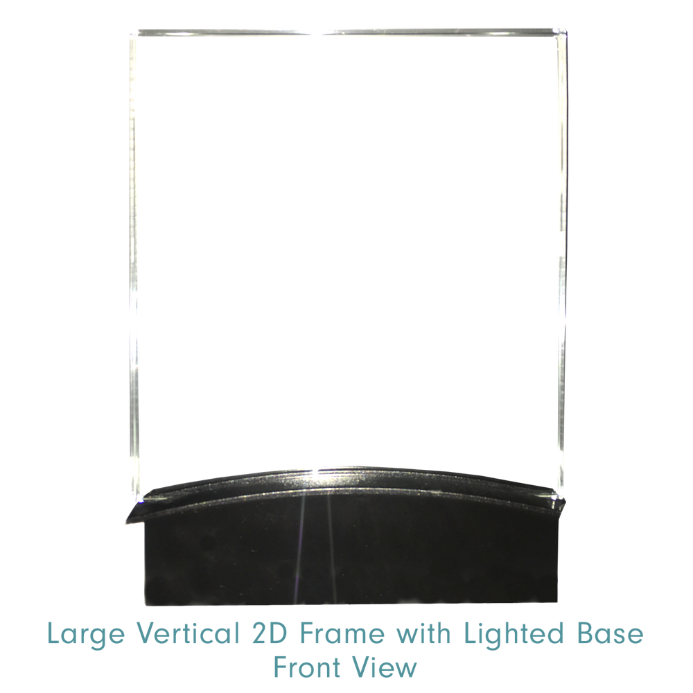 2d Frame with Lighted Base