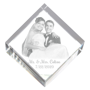 Load image into Gallery viewer, 3D Diamond Cube -  Wedding Couple