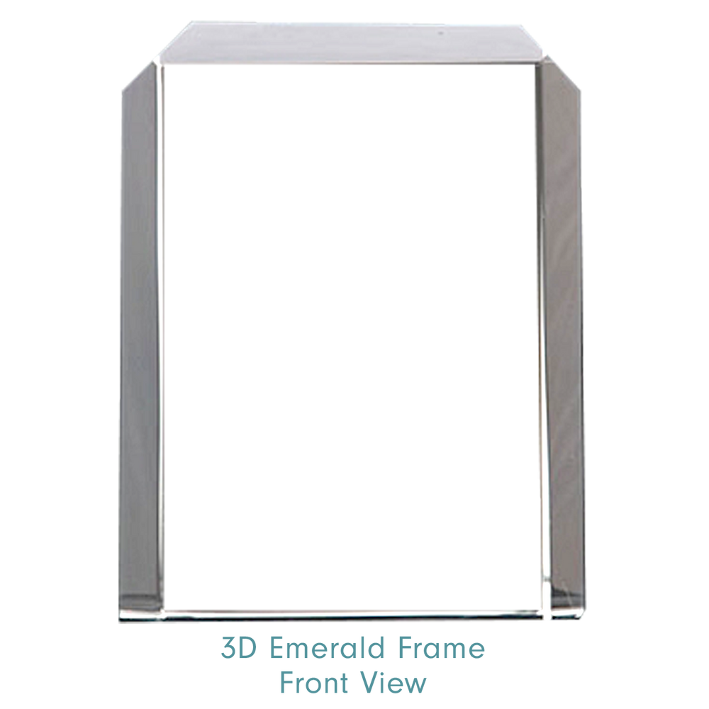 Load image into Gallery viewer, 3d Emerald Frame