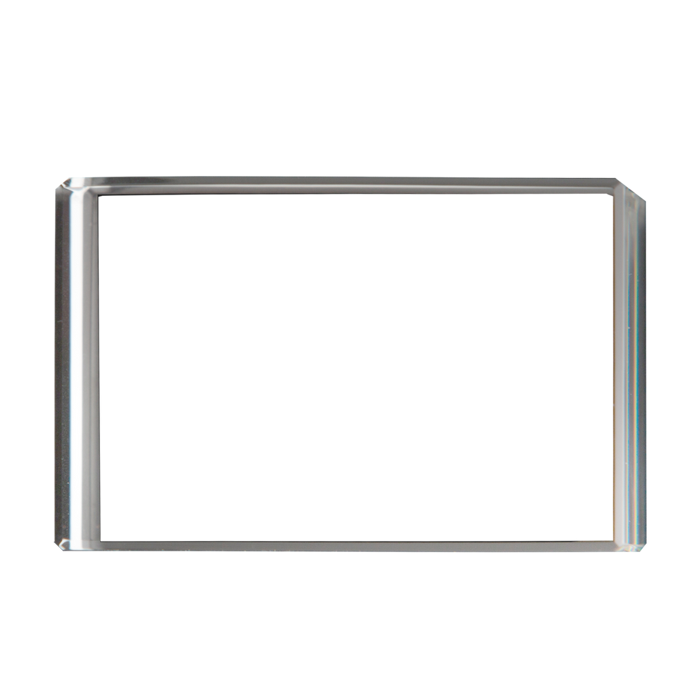 Load image into Gallery viewer, Optic Crystal Horizontal 3D Rectangle Block