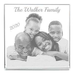 3D Square Frame - Family Portrait