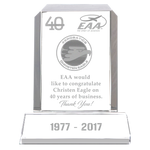 Beveled Rectangle Frame Award