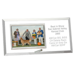 Engraved Horizontal Photo Frame