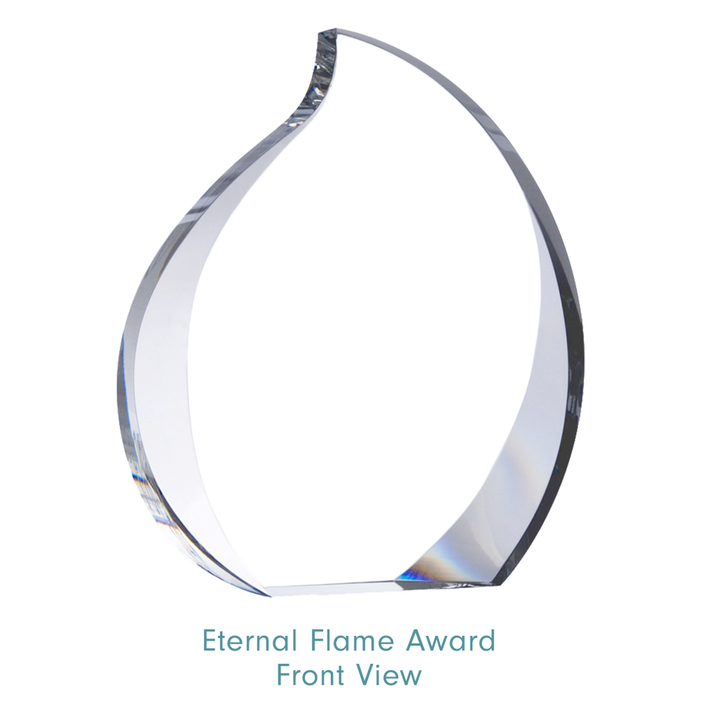 Load image into Gallery viewer, 3d Eternal Flame Award