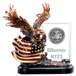 Imprint Frame Patriotic Eagle