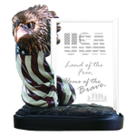 Imprint Frame Patriotic Eagle Head