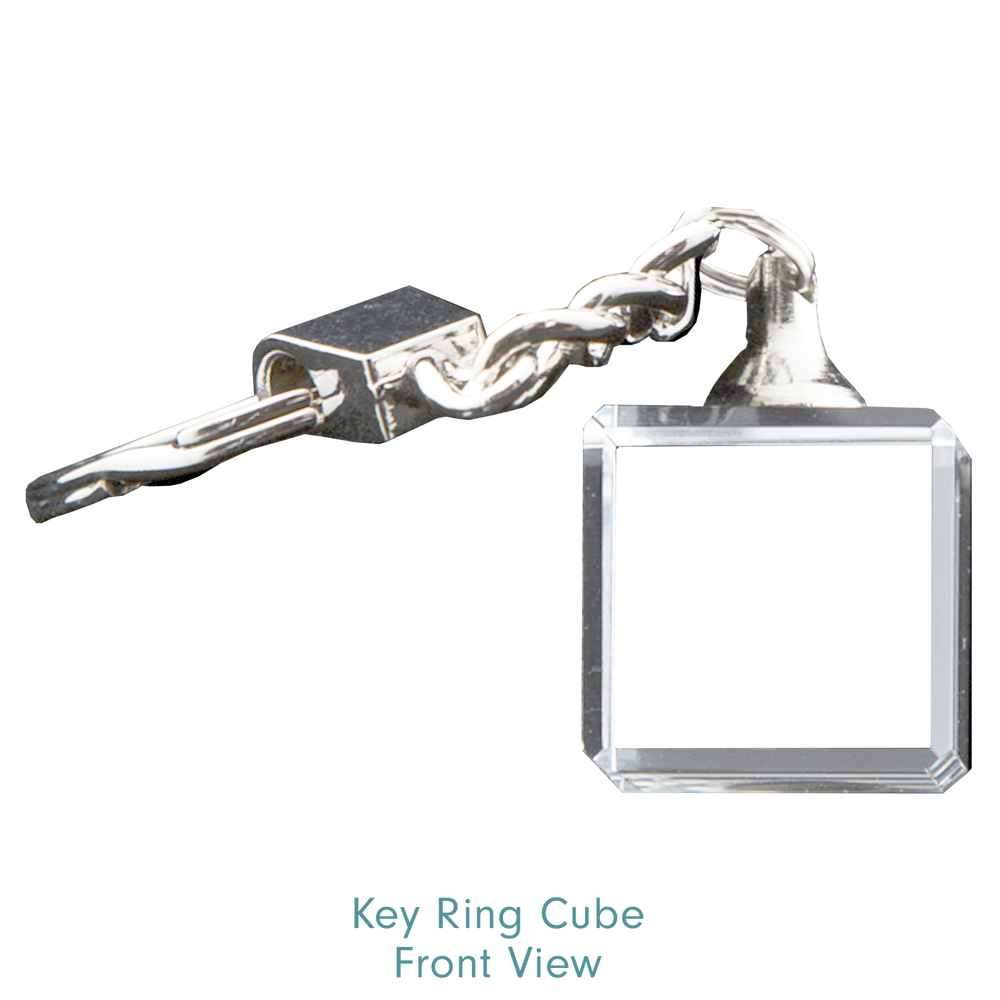 Load image into Gallery viewer, Key Ring Cube No Light