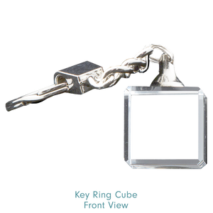 Key Ring Cube No Light
