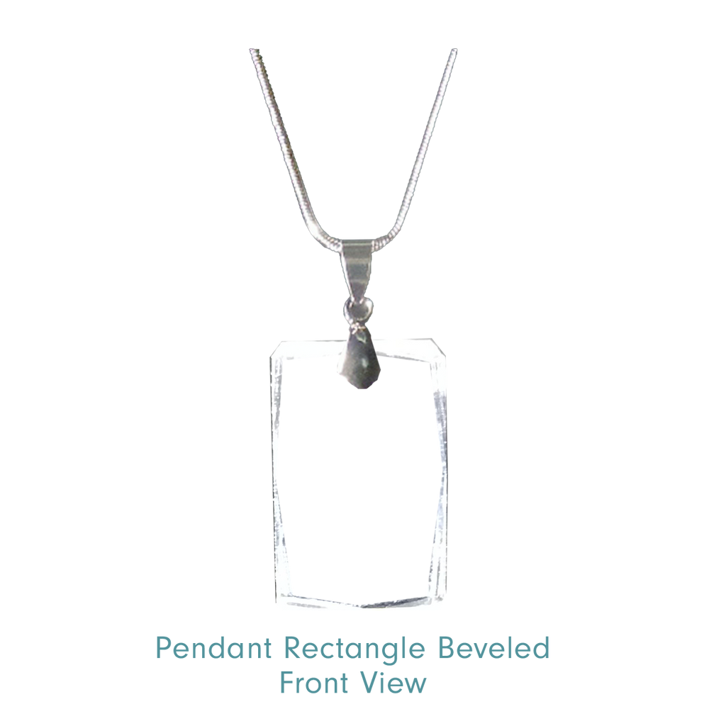 Load image into Gallery viewer, Pendant Rectangle Beveled