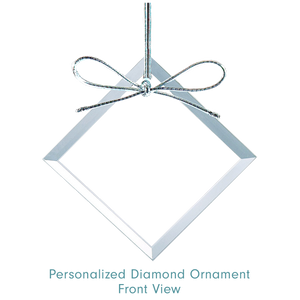 Load image into Gallery viewer, Personalized Ornament Diamond