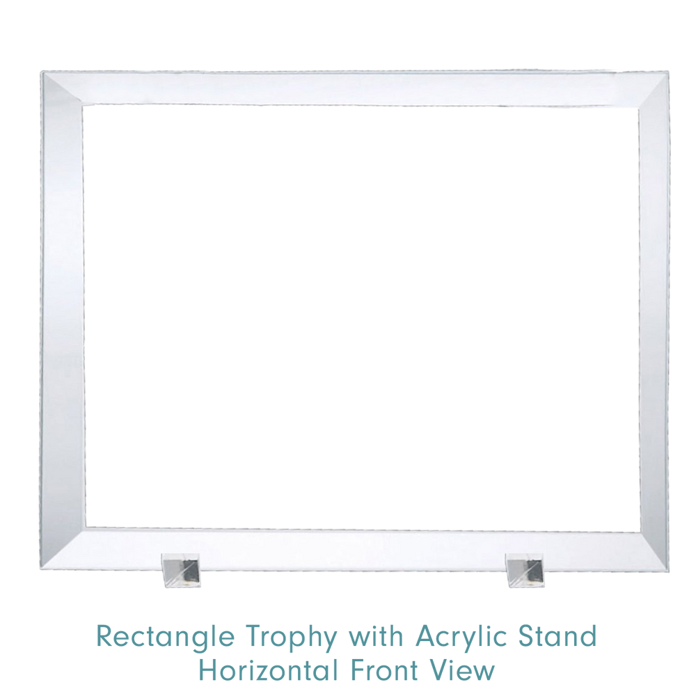 Rectangle Trophy with Acrylic Stand