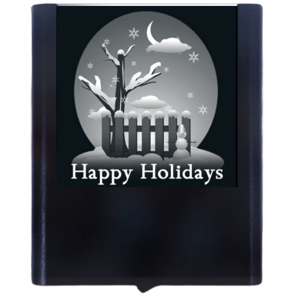 Load image into Gallery viewer, Night Light Happy Holidays Winter Scene