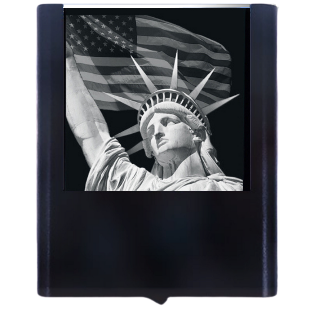 Night Light Liberty Flag 4th