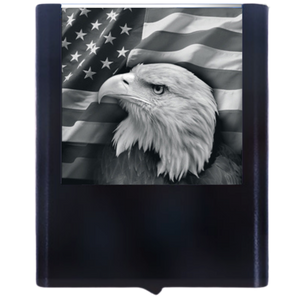 Load image into Gallery viewer, Night Light Eagle Flag