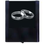 Night Light Wedding Rings