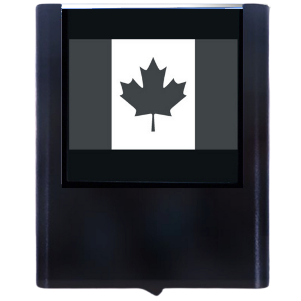 Load image into Gallery viewer, Night Light Canadian Flag
