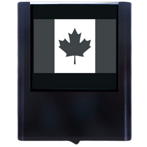 Night Light Canadian Flag