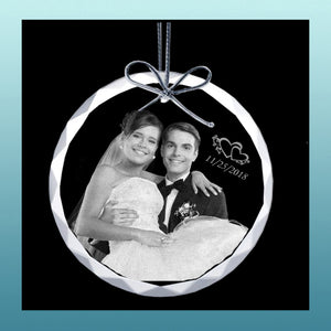 Personalized Ornament Circle