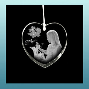 Personalized Ornament Heart