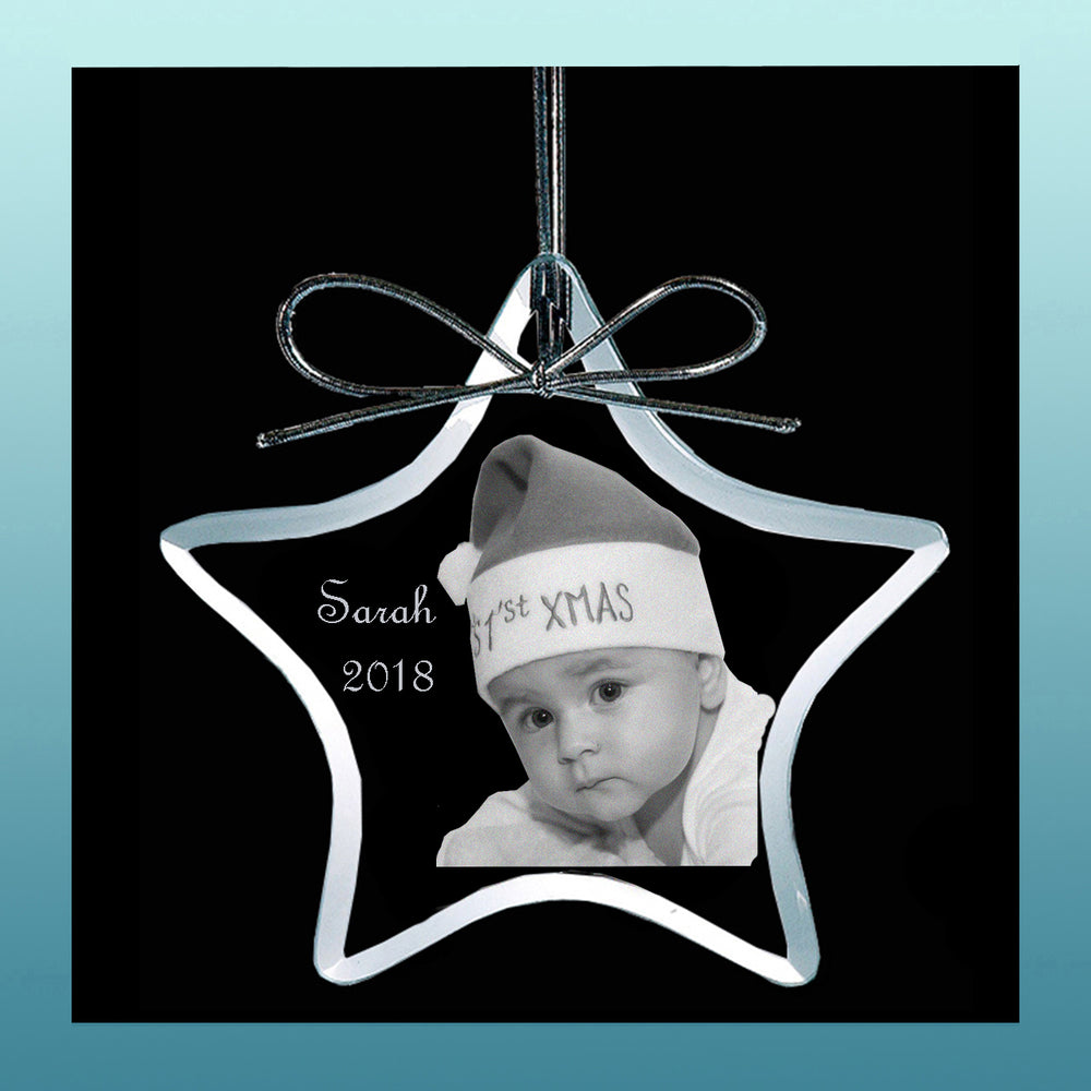 Load image into Gallery viewer, Personalized Ornament Star