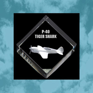 Load image into Gallery viewer, P40 Tiger Shark 3D Diamond Cube