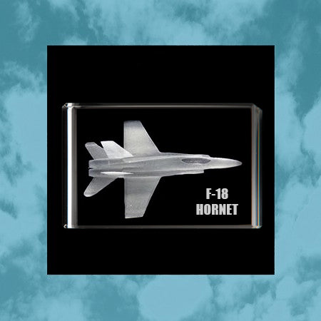 Load image into Gallery viewer, F18 Hornet 3D Rectangle Cube