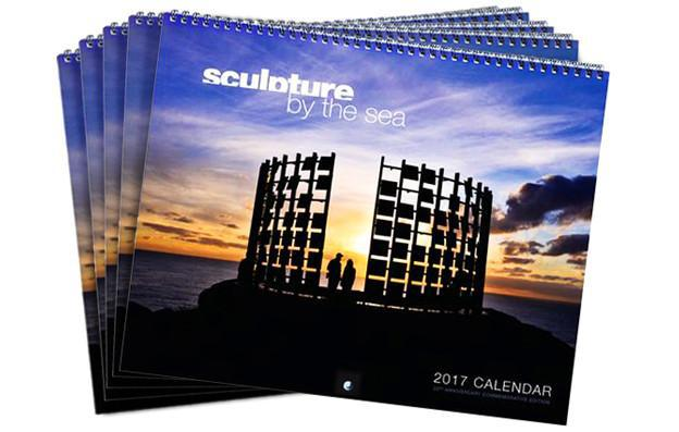 5 x Sculpture by the Sea 2017 Calendar Deal