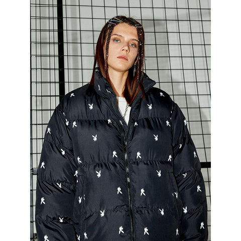 Mini Playboy Down Puffer - 'I Don't Smoke' Donsmoke Streetwear