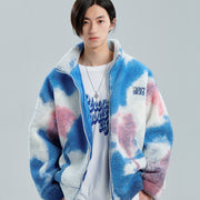 "Cotton Candy Fleece Jacket - Donsmoke ~ ""I Don't Smoke"" Chinese Streetwear"