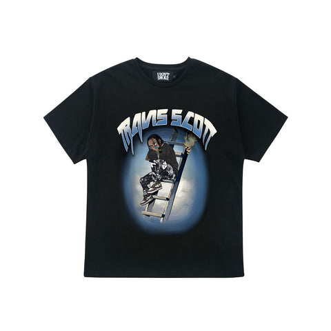 Travis Scott Animation Tee - 'I Don't Smoke' Donsmoke Streetwear