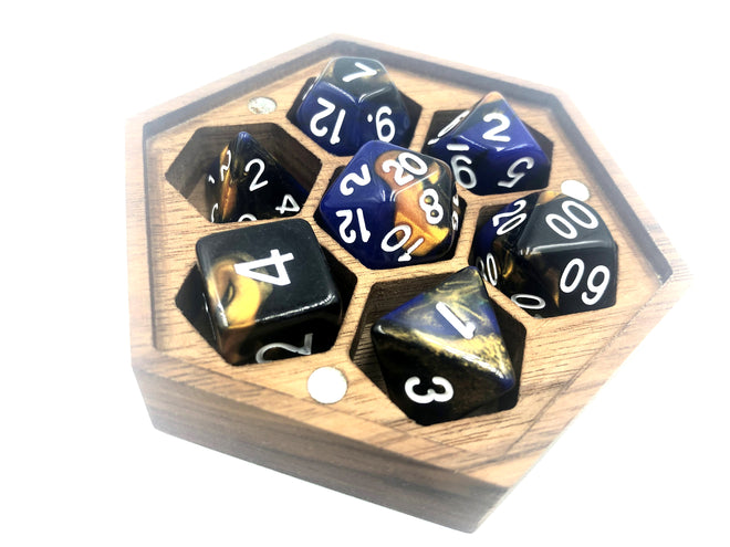 3 Colour Swirl Dice