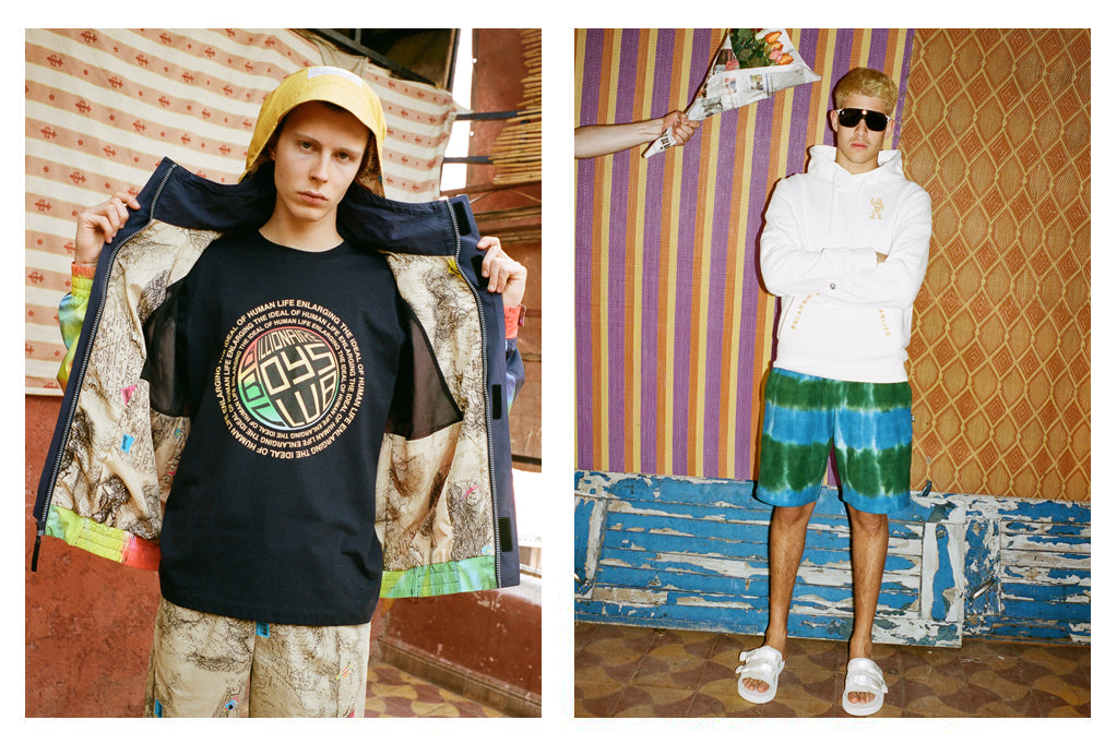 BILLIONAIRE BOYS CLUB PRE-FALL '18 LOOKBOOK