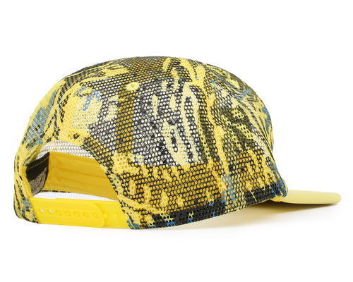 FISH CAMO TRUCKER CAP - YELLOW