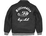 Billionaire Boys Club Pre-Spring '17 CAR CLUB WOOL JACKET - DARK GREY
