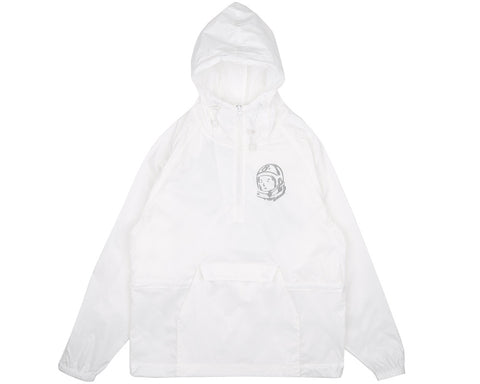 Billionaire Boys Club Pre-Fall '17 STRAIGHT LOGO 1/2 ZIP PULLOVER - WHITE