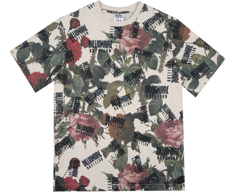 Billionaire Boys Club Spring '18 FLORAL ALL OVER PRINT T-SHIRT