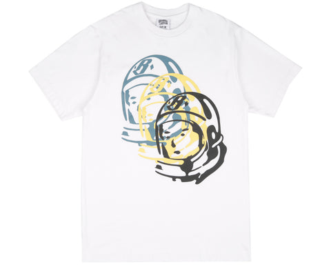 Billionaire Boys Club Spring '17 MULTI HELMET T-SHIRT - WHITE