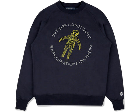 Billionaire Boys Club Fall '19 ASTRONAUT CREWNECK - NAVY