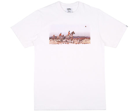 Billionaire Boys Club Pre-Spring '17 HUNTING IN SPACE S/S TEE - WHITE