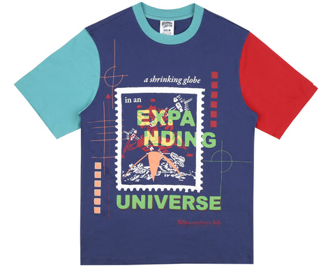 Billionaire Boys Club Fall '18 EXPANDING UNIVERSE T-SHIRT - BLUE