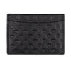 Billionaire Boys Club Spring '19 DIAMONDS & DOLLARS LEATHER CARDHOLDER - BLACK