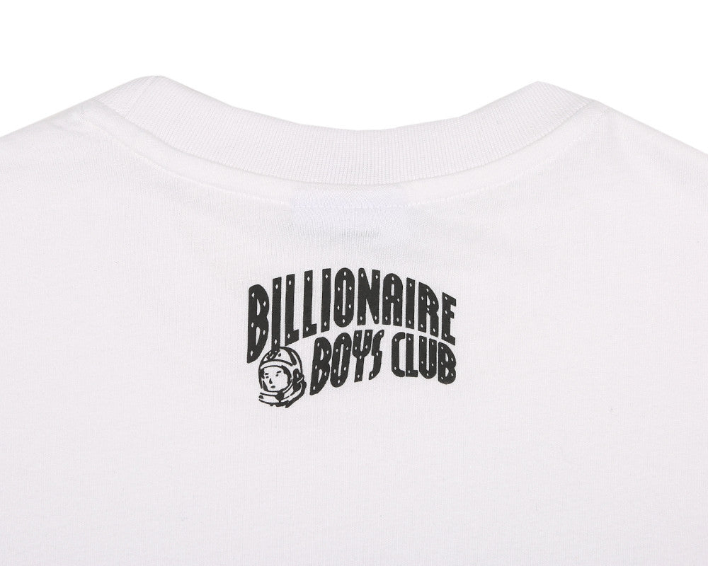 BBCICECREAM HUNTING IN SPACE S/S TEE - WHITE