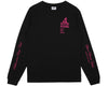 Billionaire Boys Club Pre-Fall '17 SPACE BEACH HOTEL L/S T SHIRT - BLACK